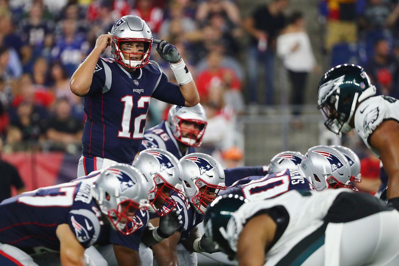 Philadelphia Eagles v New England Patriots