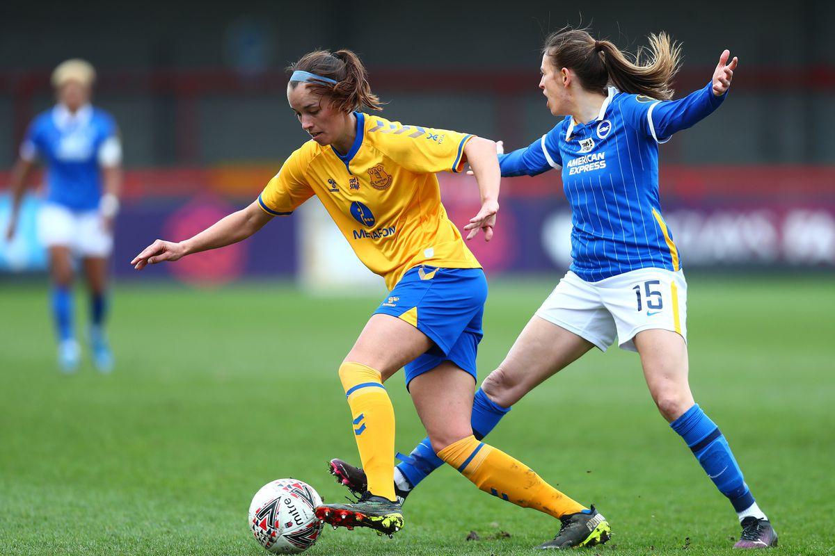 Brighton & Hove Albion Women v Everton Women - Barclays FA Women's Super League