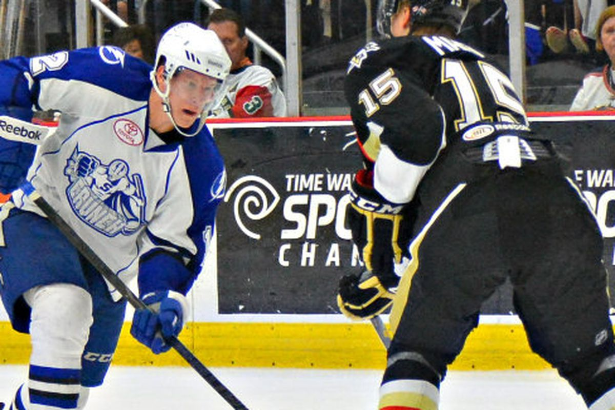 Ondrej Palat is one of several Syracuse Crunch veterans who could crack the Tampa Bay lineup in 2013-14.