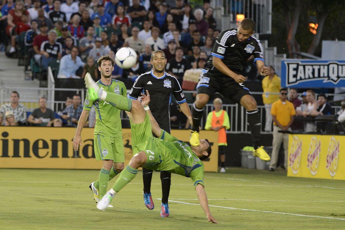A few just misses in MLS play shouldn't overshadow that in 2012 Ochoa is a non-league star. (Photo by Thearon W. Henderson/Getty Images)