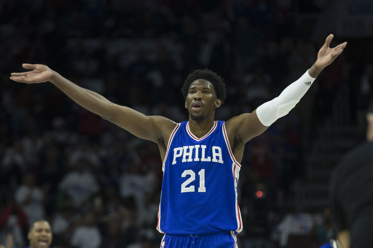 Joel Embiid reacts brilliantly to signing massive $148m extension with the Sixers