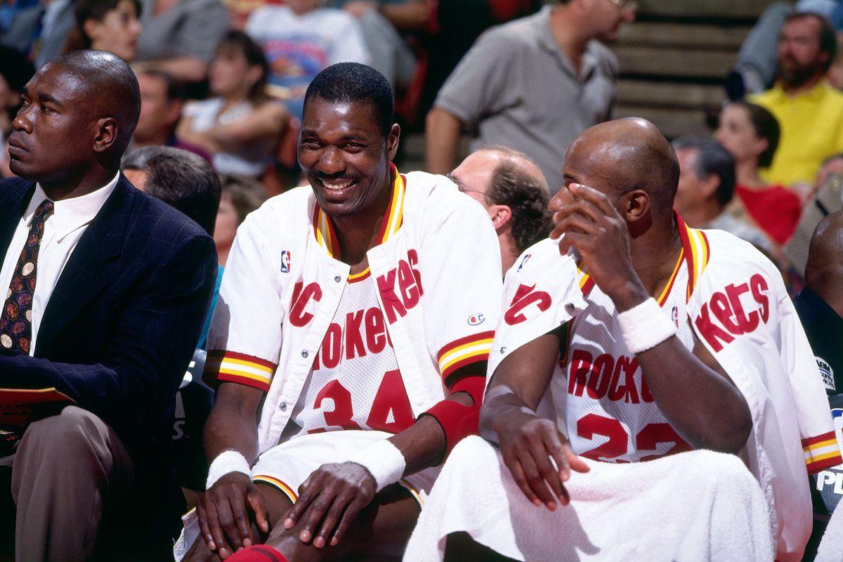 1995 NBA Playoffs: Second Round - Game Three: Phoenix Suns v Houston Rockets