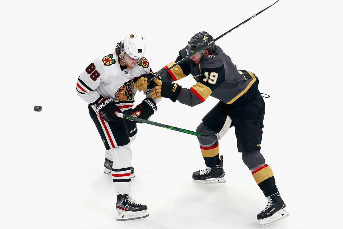 Chicago Blackhawks v Vegas Golden Knights - Game Five