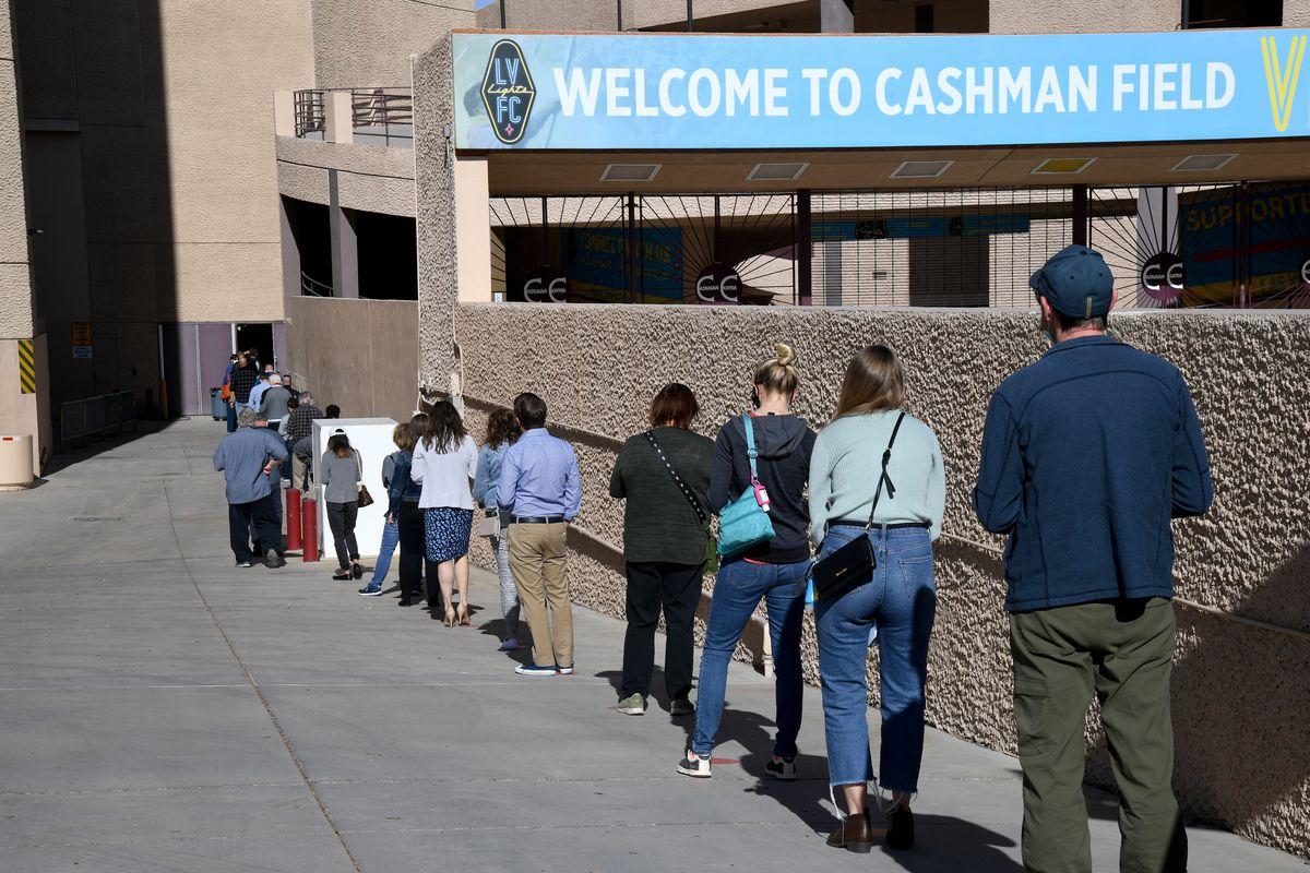 Pilot Vaccination Program Begins In Nevada's Populous Clark County