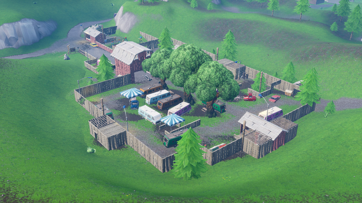 Fortnite Guide Search Chests Or Ammo Boxes At A Motel Or An Rv Park