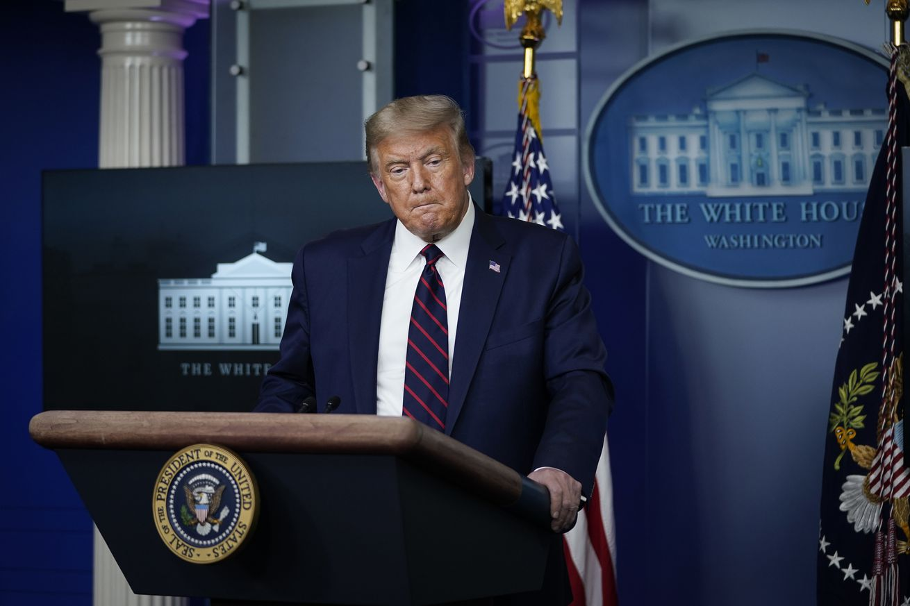 President Trump Holds White House News Conference