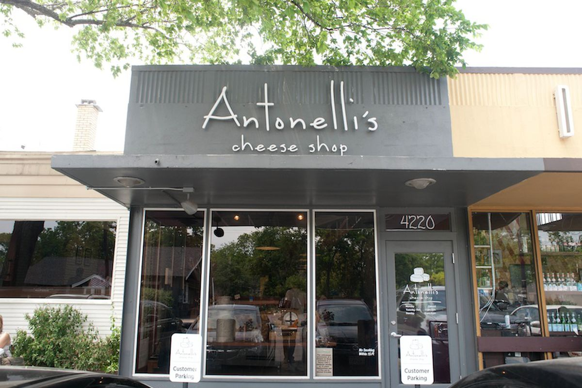 Antonelli's Cheese Shop.