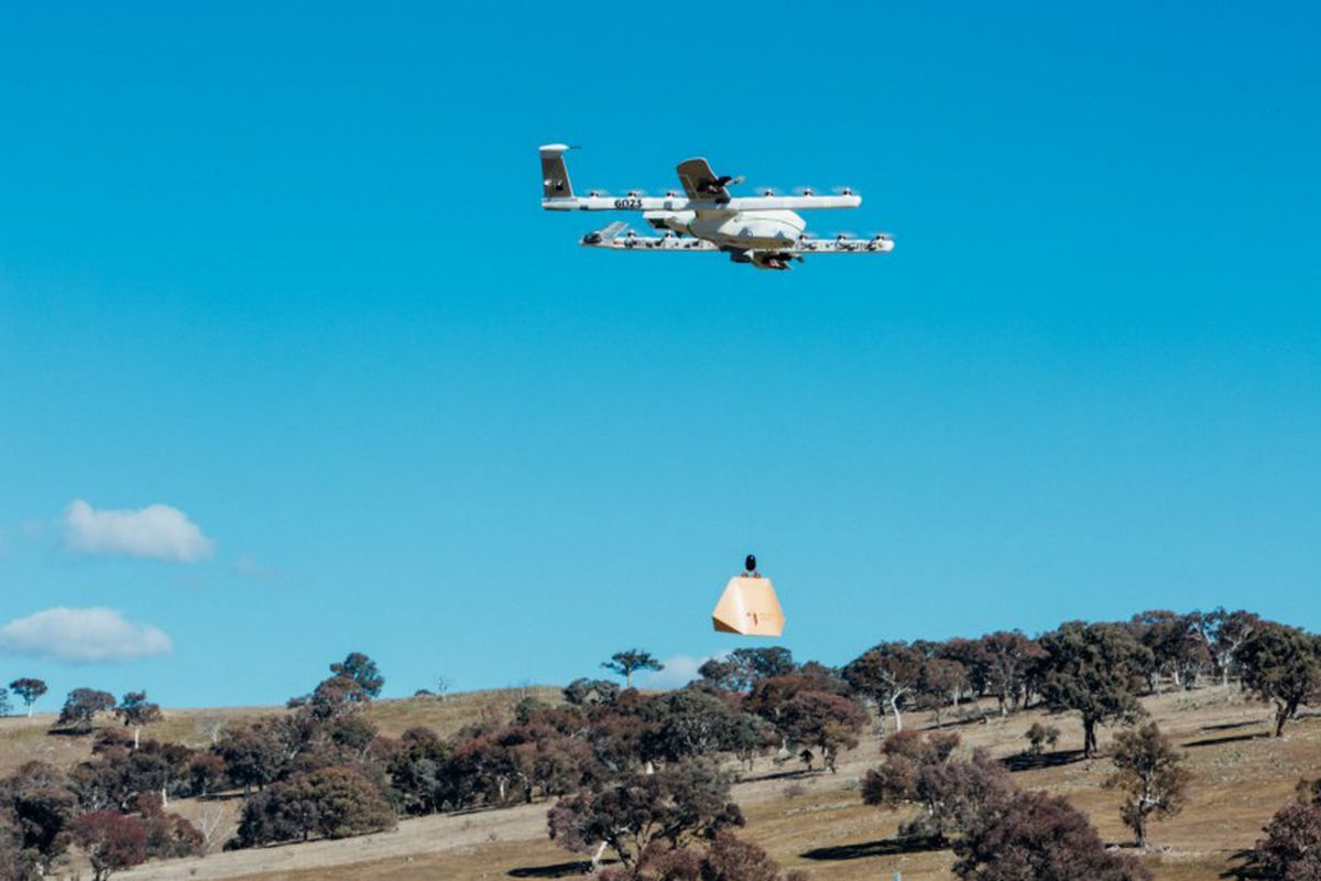 Google trials burrito delivery by drone in NSW