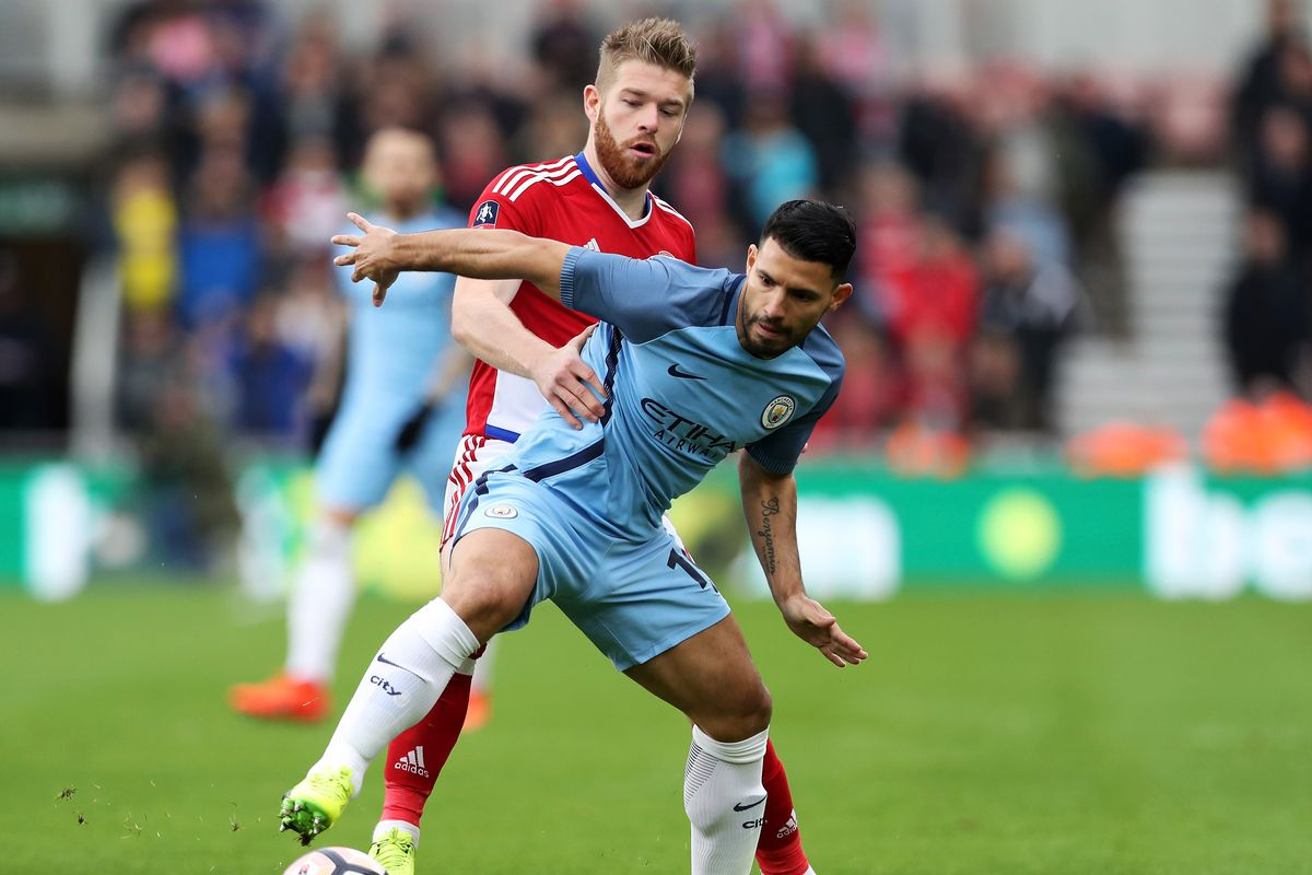 Middlesbrough v Manchester City - The Emirates FA Cup Quarter-Final