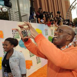 Al Roker arrives at Nickelodeon's 25th Annual Kids' Choice Awards on Saturday, March 31, 2012 in Los Angeles.