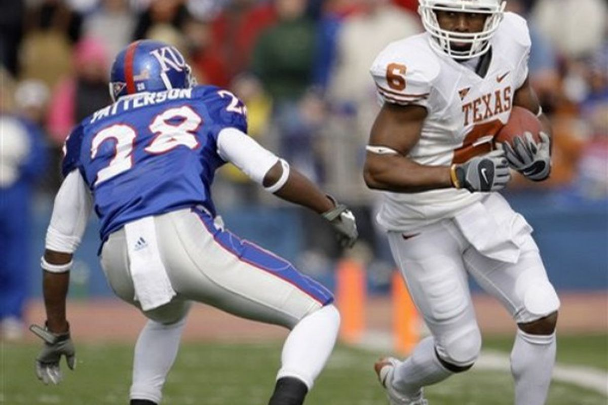 Daymond Patterson Will Begin the 2009 Season Where he Left Off in the Defensive Backfield as a Corner for the Jayhawks