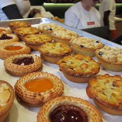 """Tart tray from Breads Bakery by <a href=""""http://www.flickr.com/photos/scottlynchnyc/8442430119/in/pool-eater/"""">Scoboco</a>"""