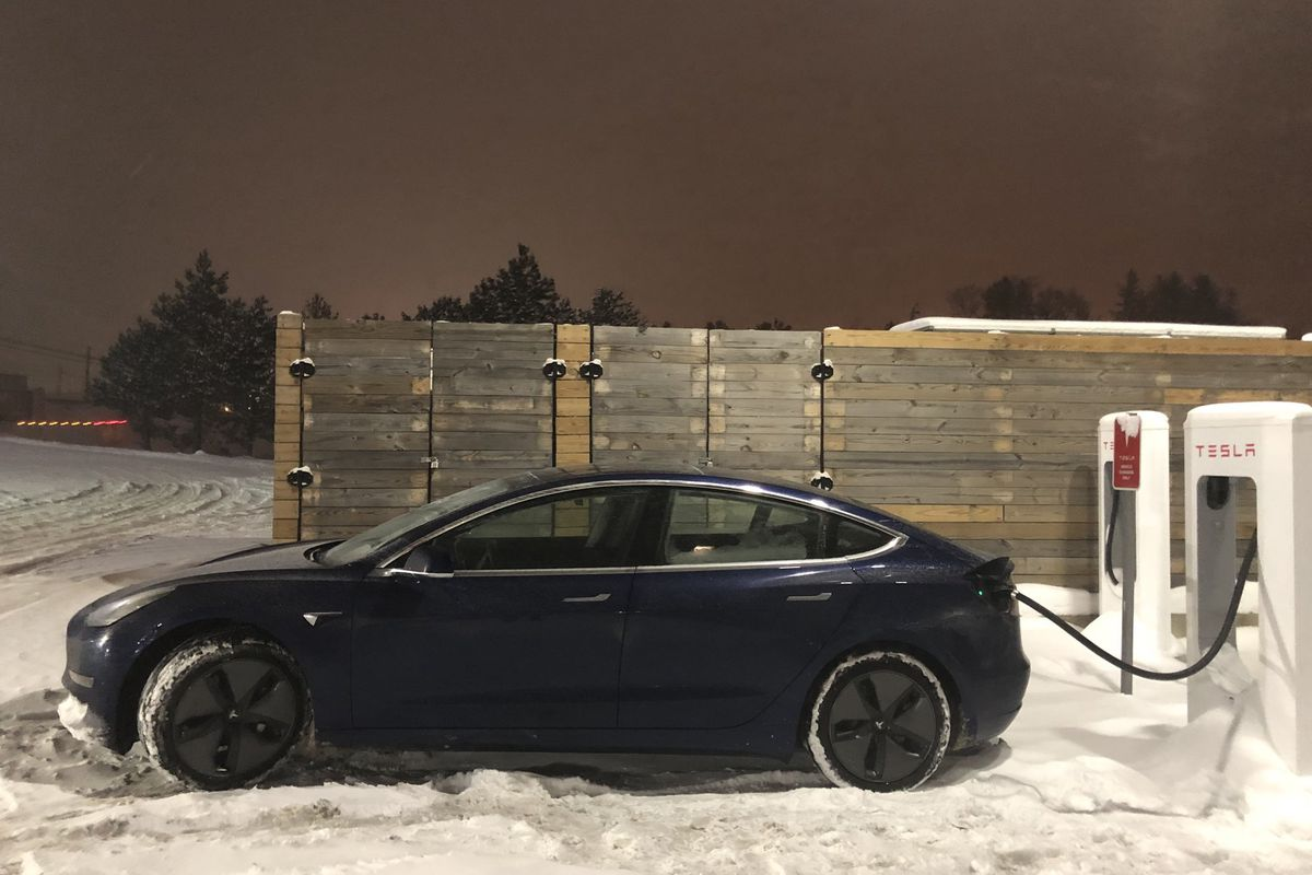 Tesla Model 3 driven from LA to New York in 50 hours - The Verge