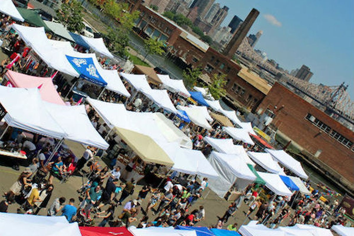 """The LIC Flea &amp; Food; Image via <a href=""""http://blogs.villagevoice.com/forkintheroad/2013/06/what_to_eat_at_4.php"""">Village Voice</a>"""