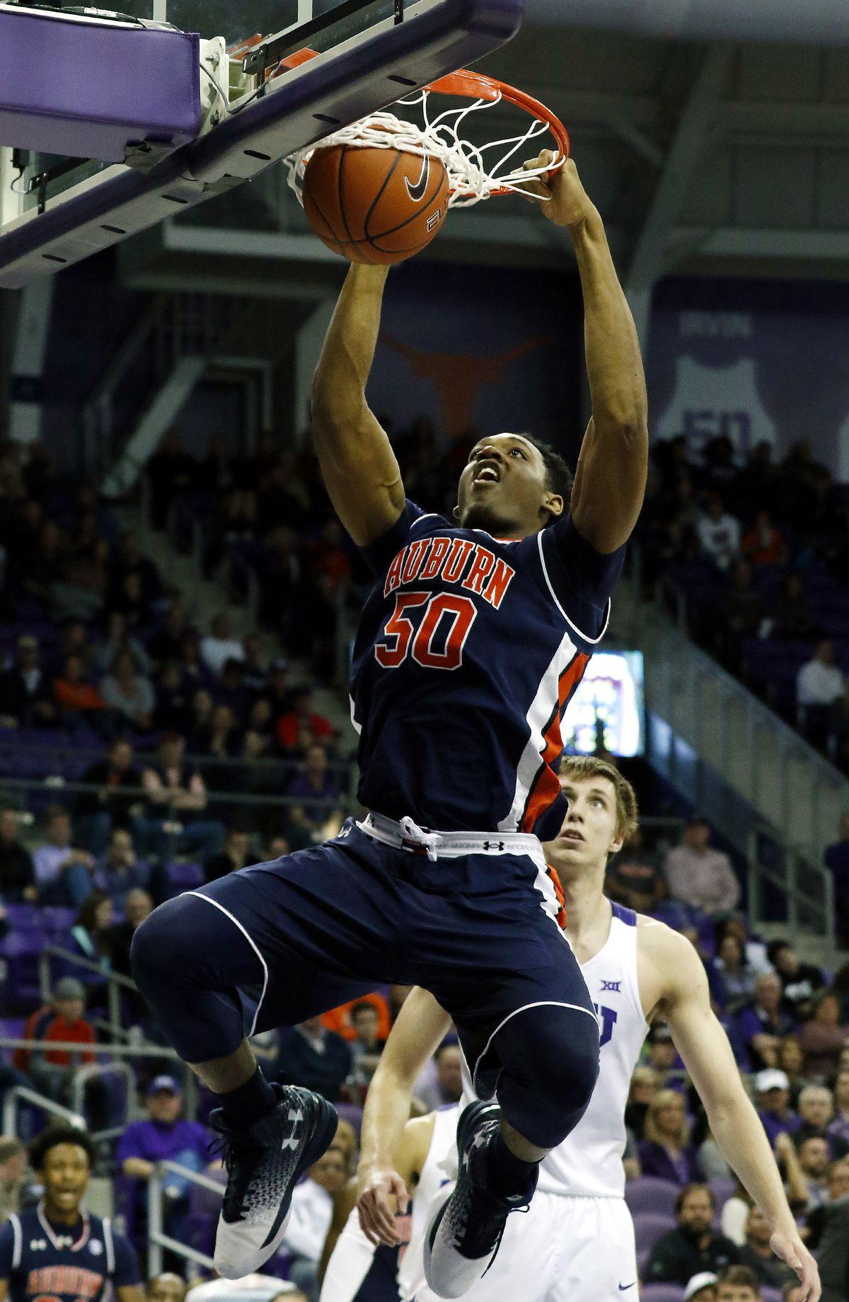 NCAA Basketball: Auburn at Texas Christian