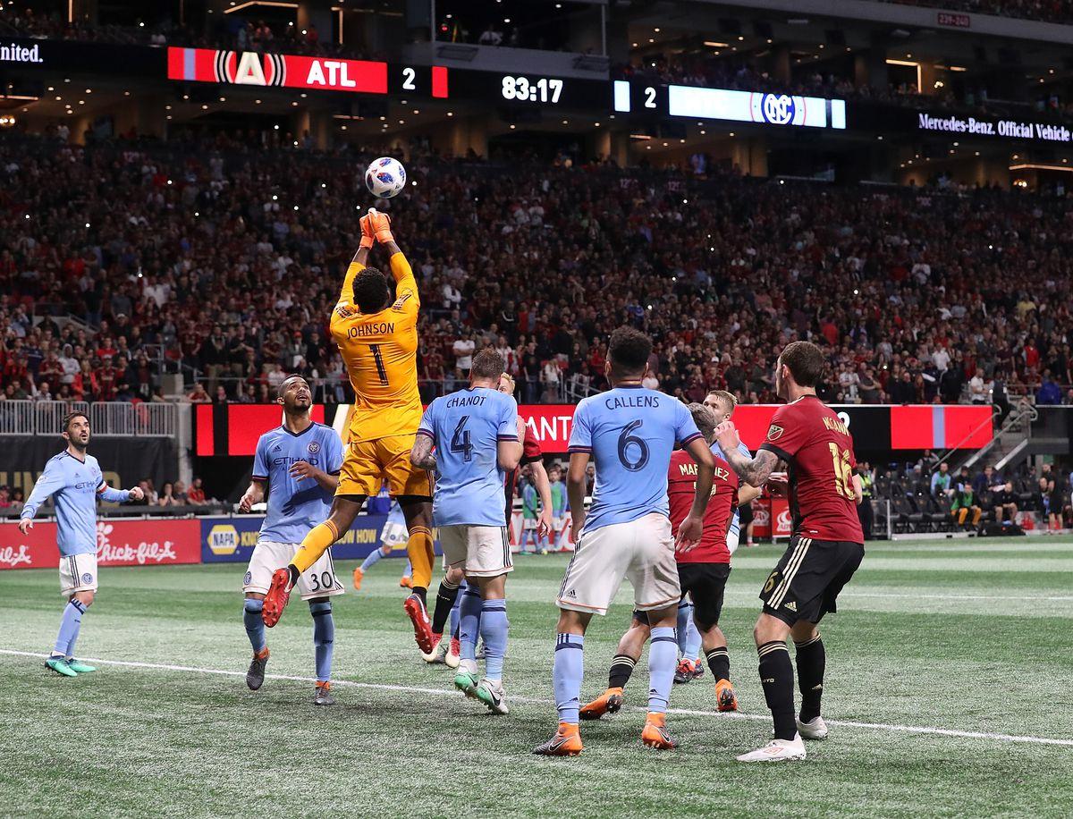 MLS: New York City FC at Atlanta United FC