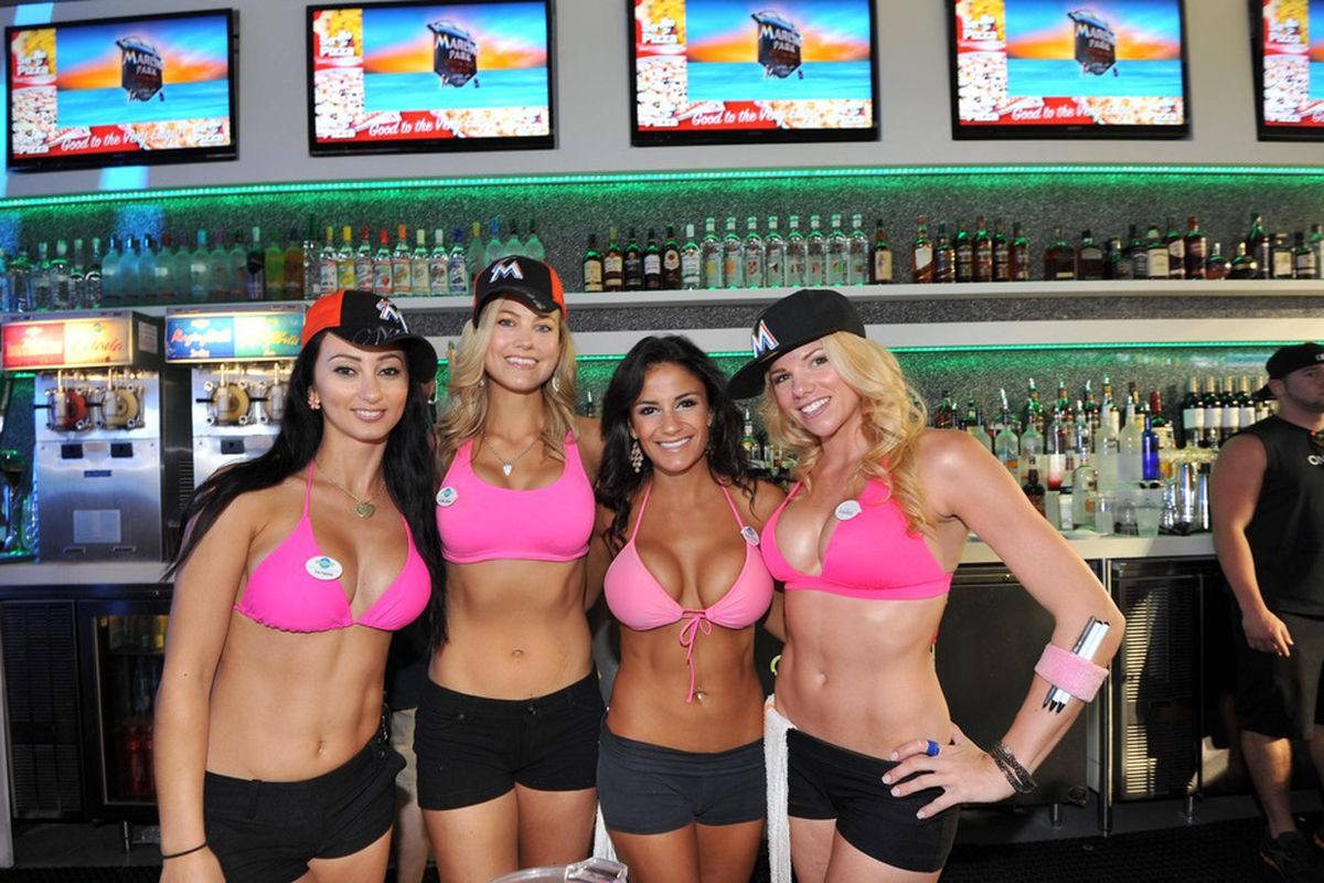 The ladies of the Clevelander are loving the Fish Stripes Yahoo! Fantasy Baseball League action thus far.