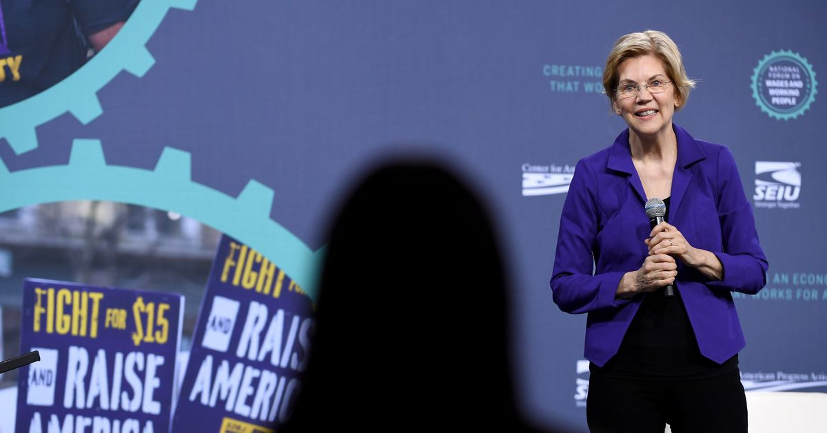 """Elizabeth Warren rejects Fox News town hall invitation, calling the network a """"hate-for-profit racket"""""""