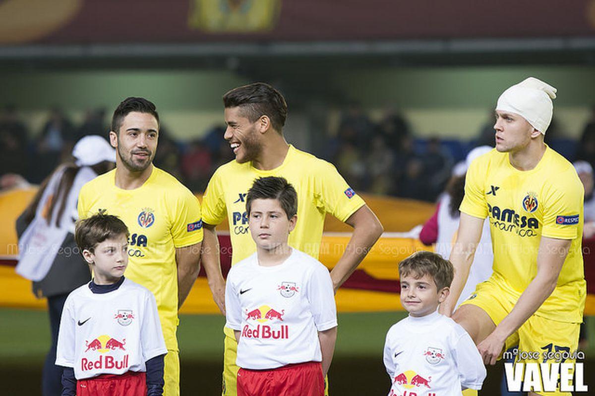 Villarreal preparing to face Red Bull