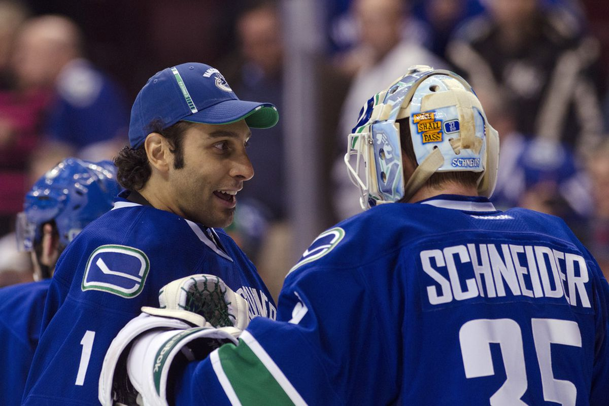 Aging Goalies What Does The Future Hold For Luongo Miller