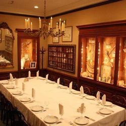 """The Proteus Room at Antoines. With memorabilia of the old-line carnival krewe.  Courtesy of <a href=""""http://www.facebook.com/pages/Antoines-Restaurant/"""">Facebook</a>"""