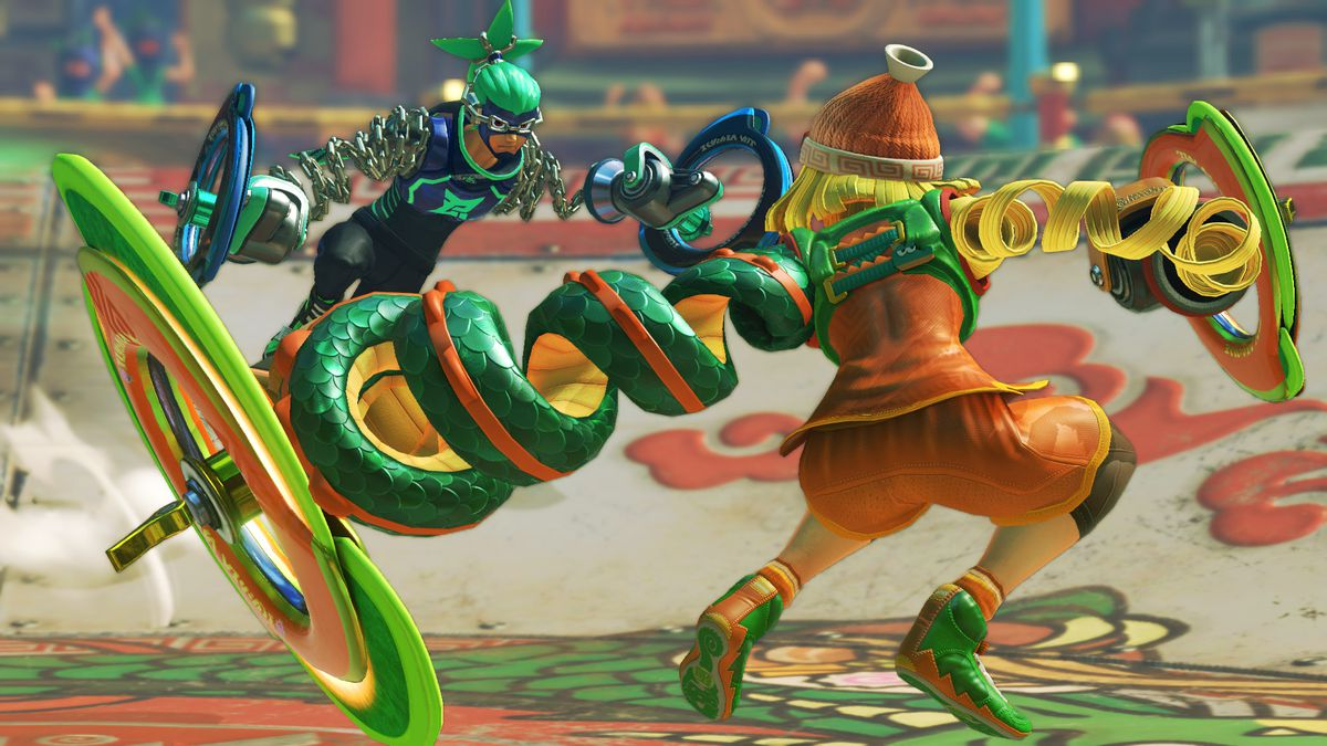 Arms - Ninjara vs. Ribbon Girl