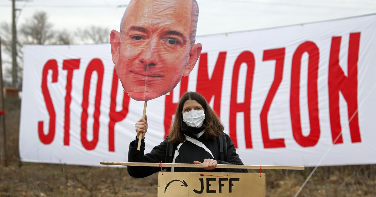 Jeff Bezos seems to be reckoning with his legacy in the wake of the Amazon union drive