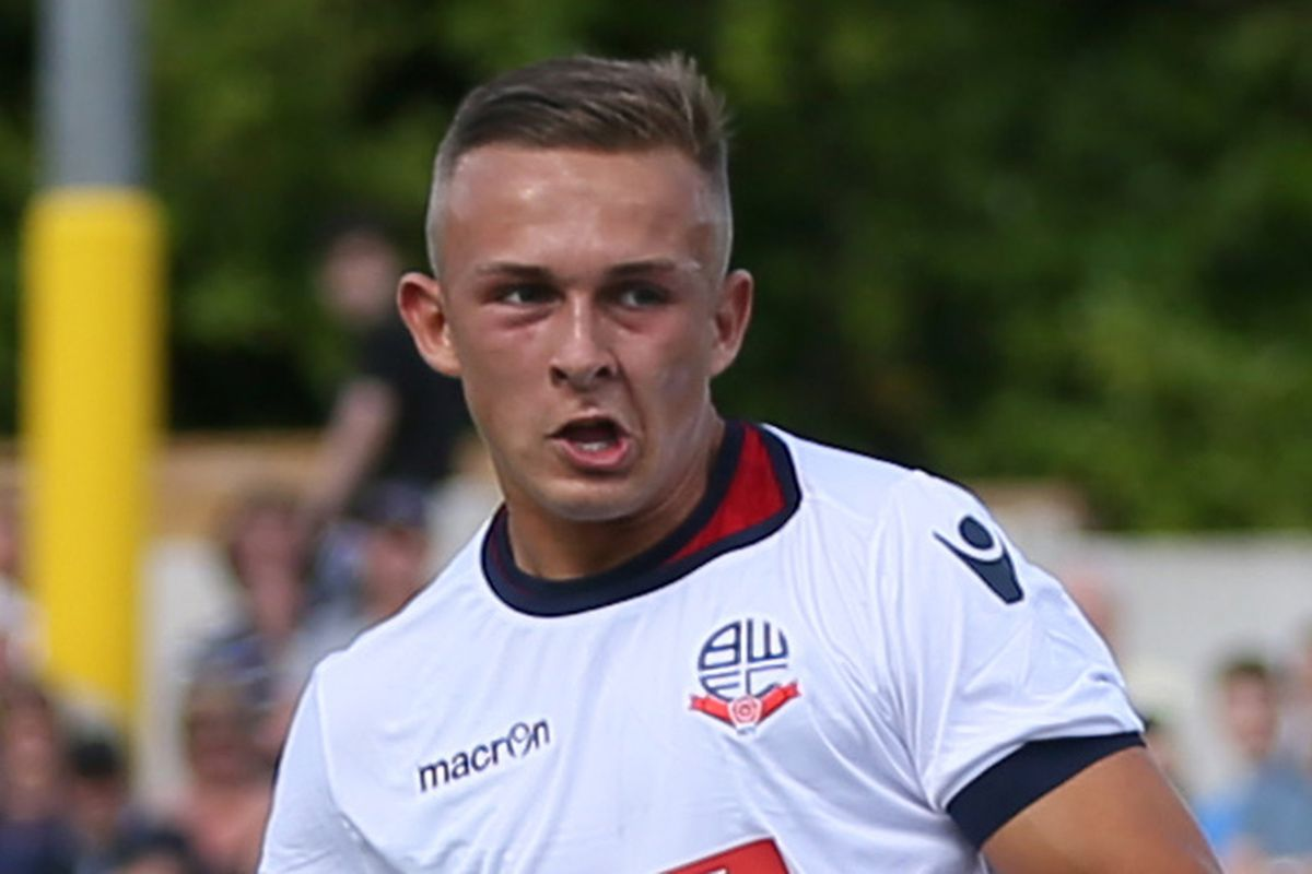 Jamie Thomas finally makes it onto the Bolton bench for the first time this afternoon