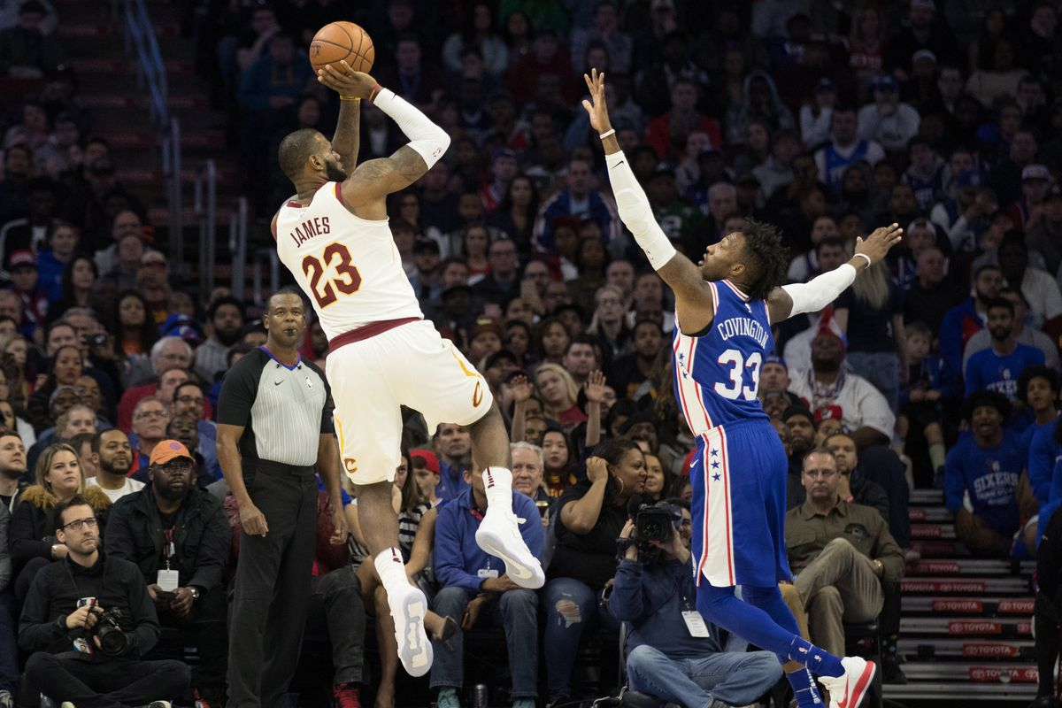 Final Score: Cavs beat Sixers 113-91, win eighth straight - Fear The