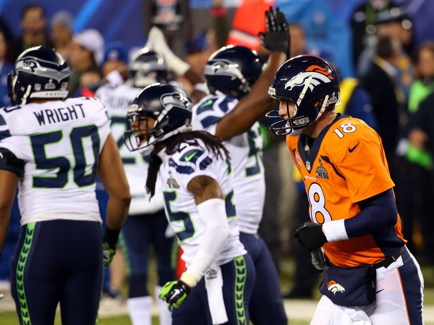 f5b0b72e Super Bowl 2014 score: Seahawks get safety to start game after ...