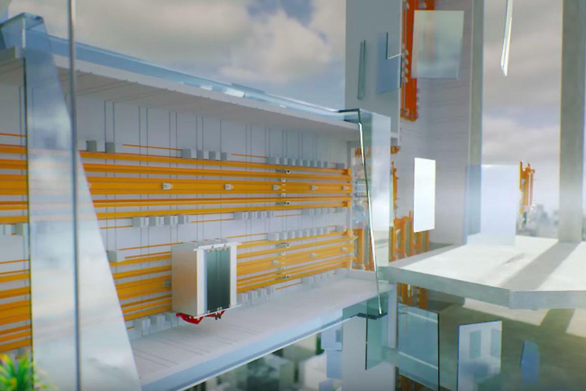 horizontal elevator