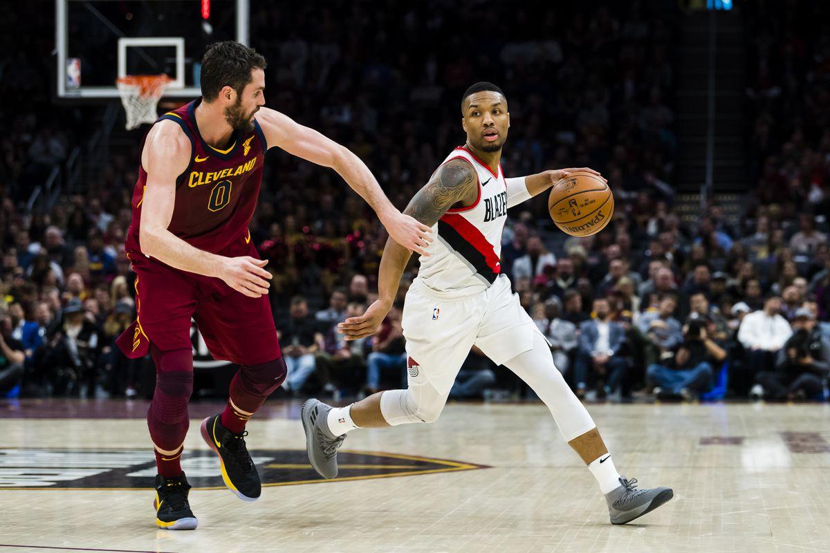 Portland Trail Blazers v Cleveland Cavaliers