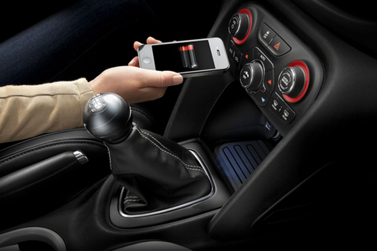 Chrysler Adds Built In Wireless Charging Option To 2013 Dodge Dart The Verge