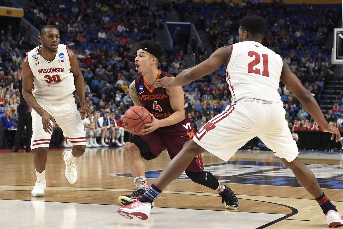 NCAA Basketball: NCAA Tournament-First Round-Virginia Tech vs Wisconsin
