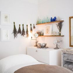 """Try the <strong>Dr. A Facial</strong> ($130, 80 minutes) that uses products from the Dr. Alkitas skin care line. The spa describes its popular treatment as containing """"herbs and botanicals with anti-inflammatory properties to nourish and hydrate"""" and is b"""