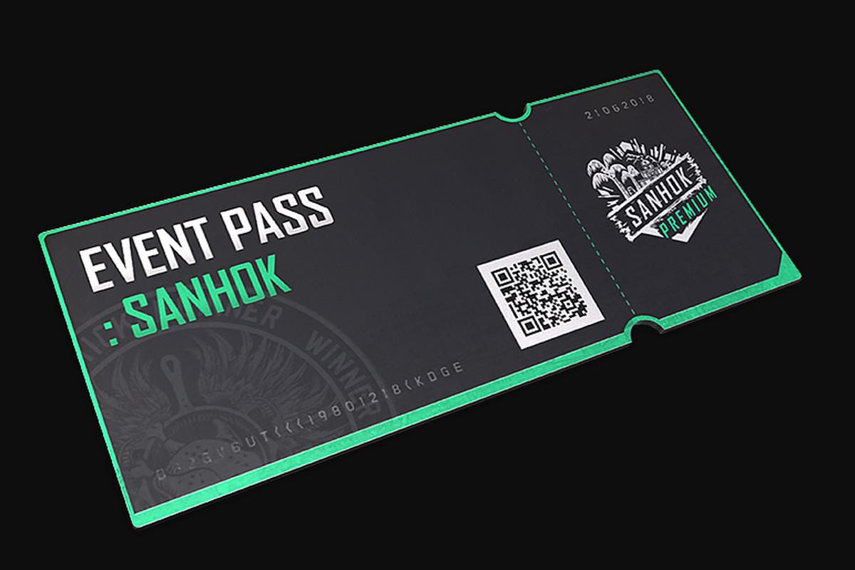 pubg event pass - sanhok (dlc)