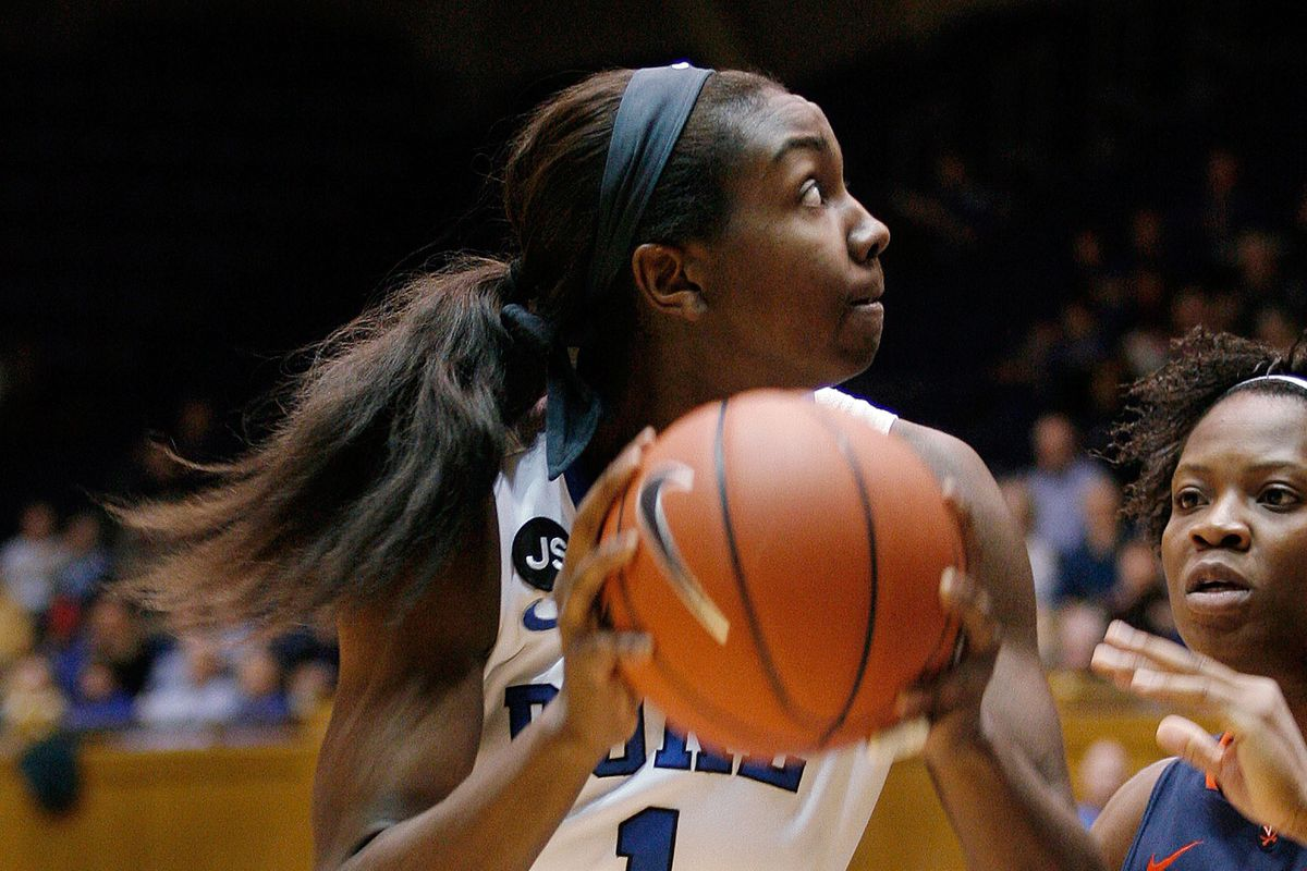 Elizabeth Williams had 23 points on 11-15 shooting against Marquette last season.