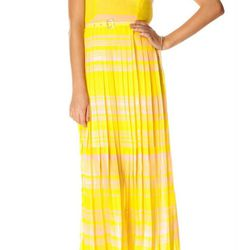 """<b>French Connection</b> London Rock Stripe maxi dress, <a href=""""http://usa.frenchconnection.com/product/woman+Collections+dresses/71NF7/LONDON+ROCK+STRIPE+MAXI+DRESS.htm"""">$228</a>"""