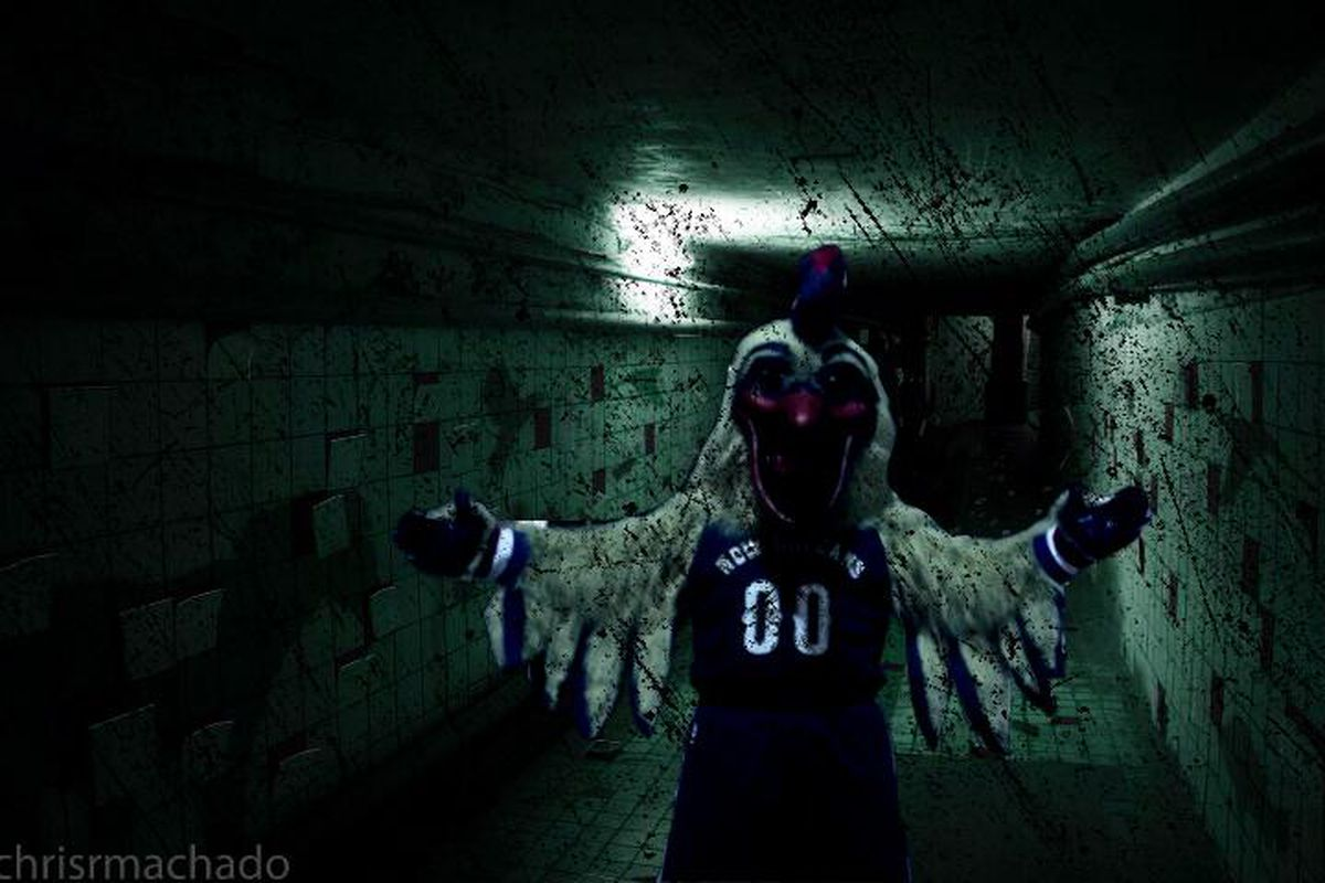 Pierre the New Orleans Pelican is the scariest thing ever ...