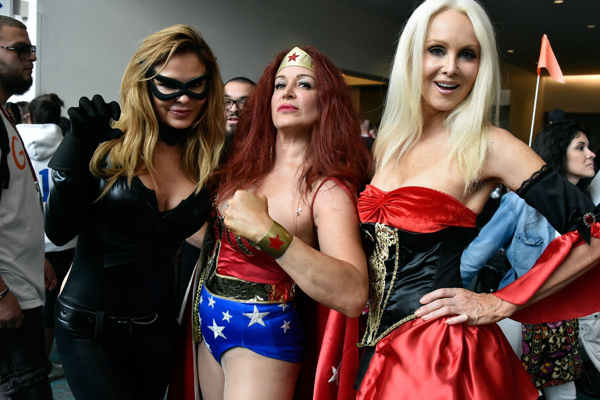 Women Cosplay at the Comic Con International Convention