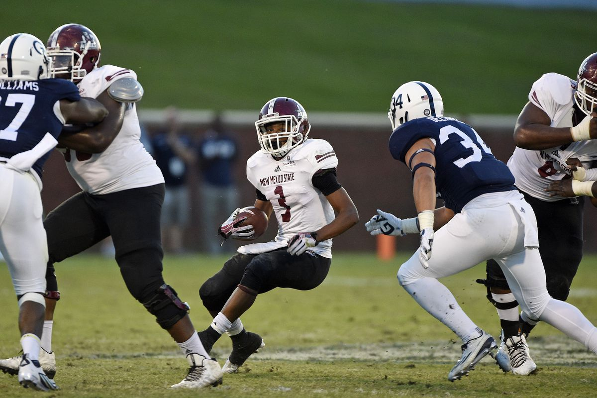 If there's anyone who can save NMSU football, it's Larry Rose III