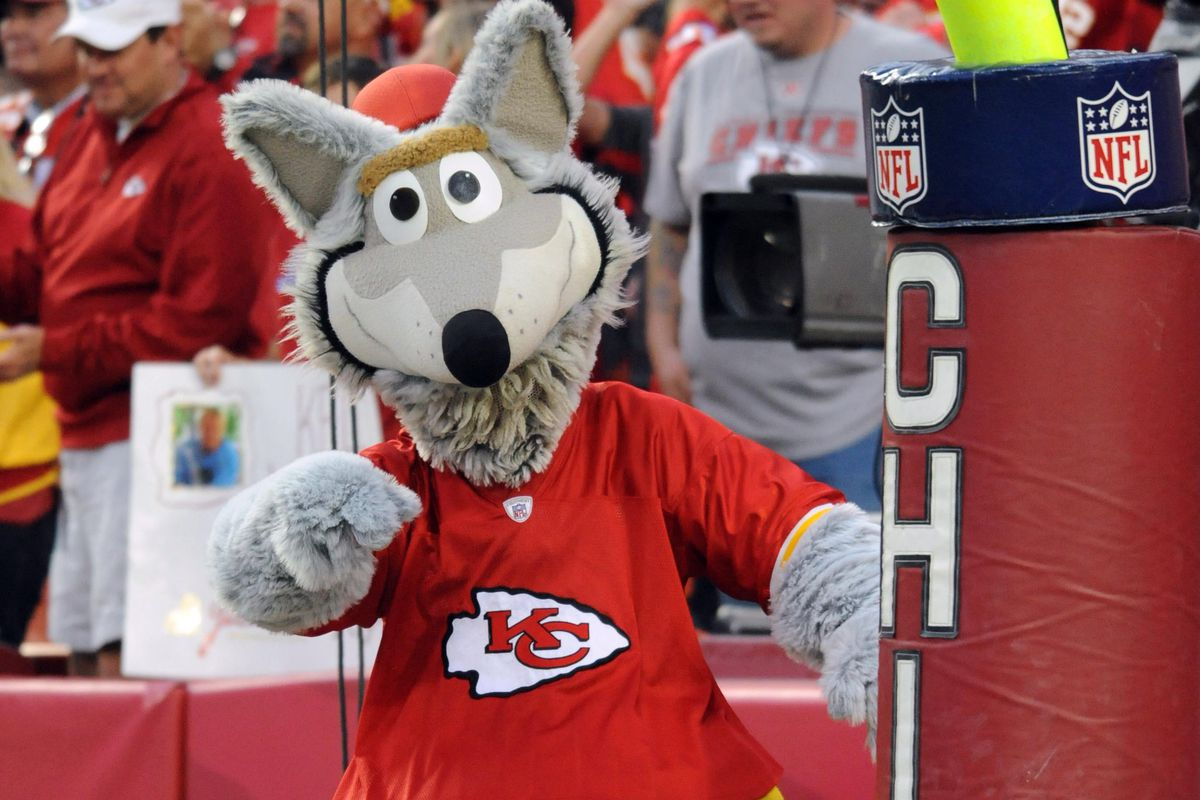 What on earth does this mascot have to do with the Chiefs anyway?