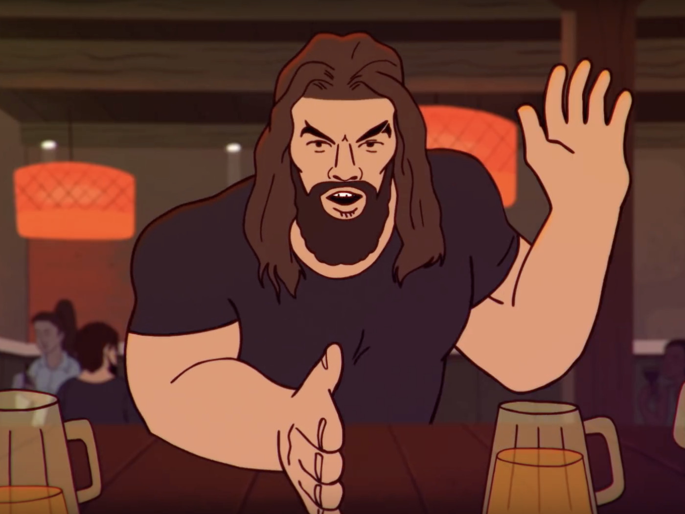 Game Of Thrones Jason Momoa Once Slapped David Benioff Into The