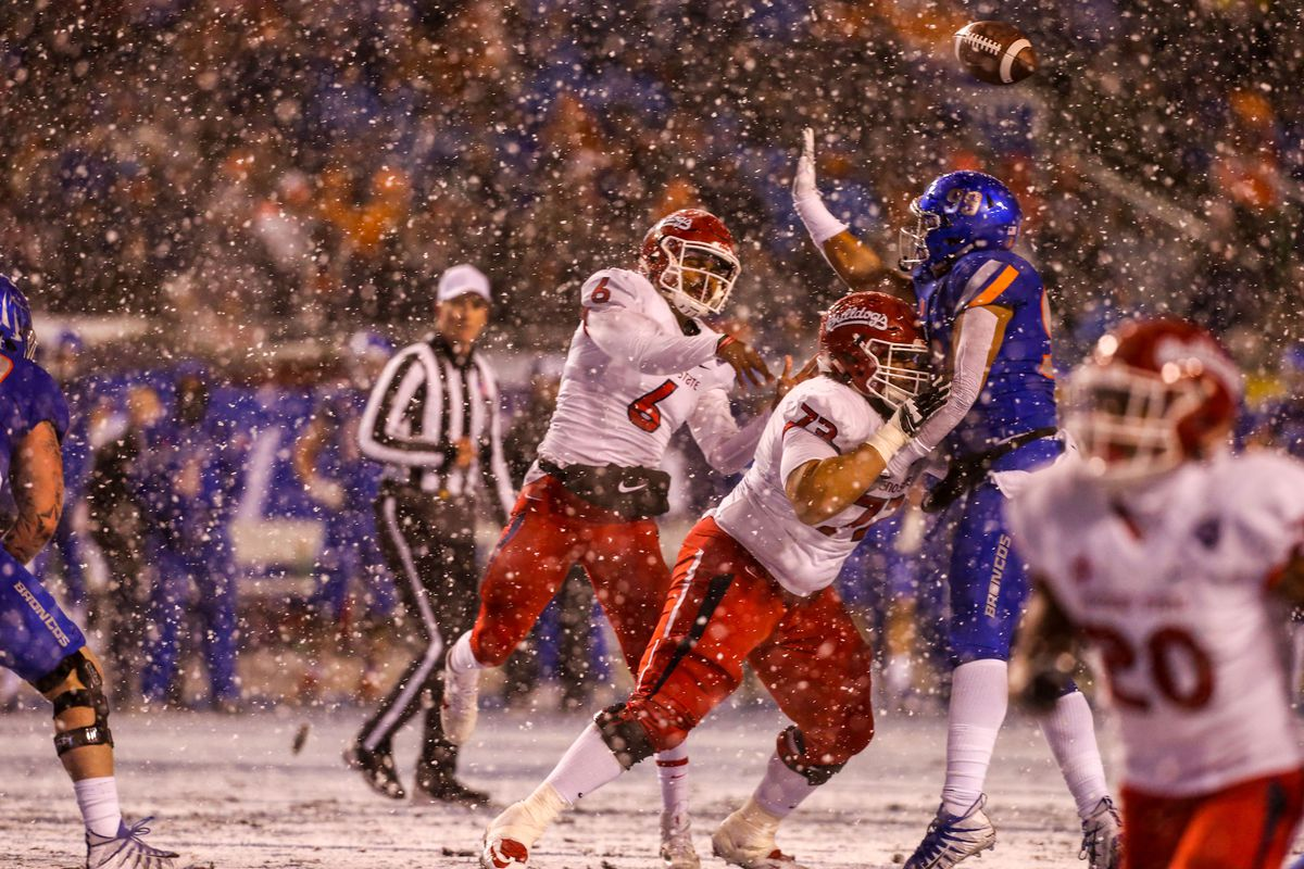 NCAA Football: Mountain West Championship-Fresno State at Boise State