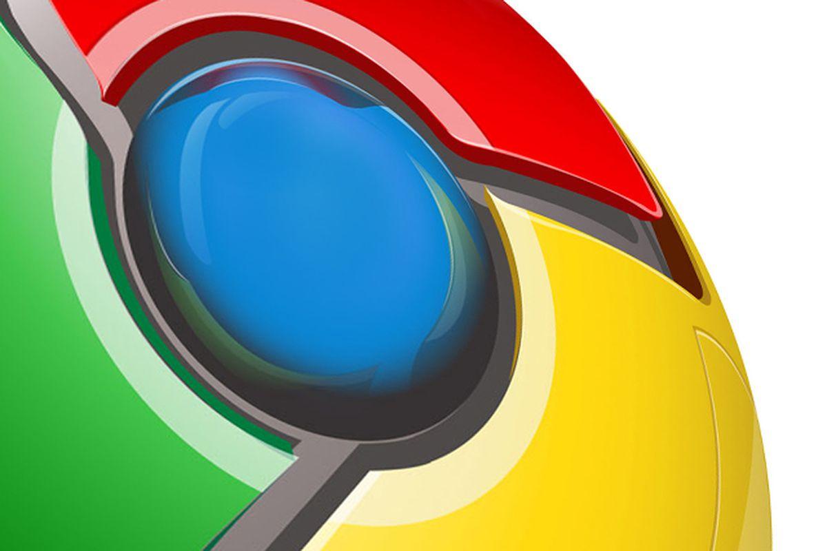 Google Chrome Logo CloseUp