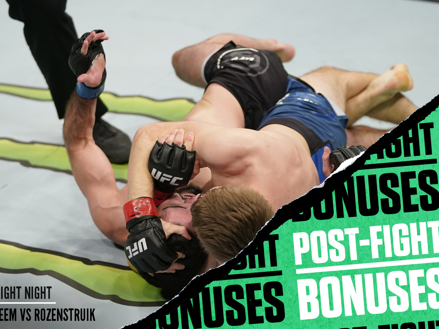 Ufc Washington Dc Post Fight Bonuses Bryce Mitchell Wows