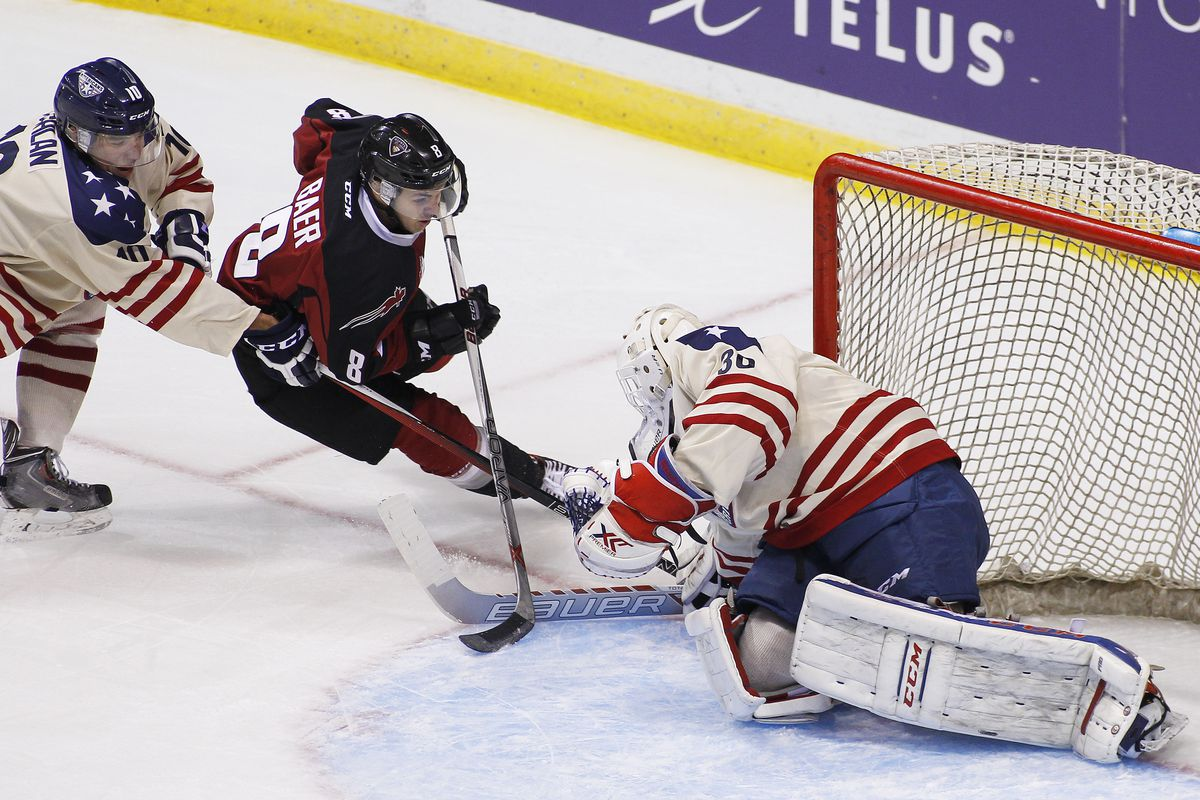 Tri-City American goaltender Nick Sanders got back-to-back starts for the first time this season last week.