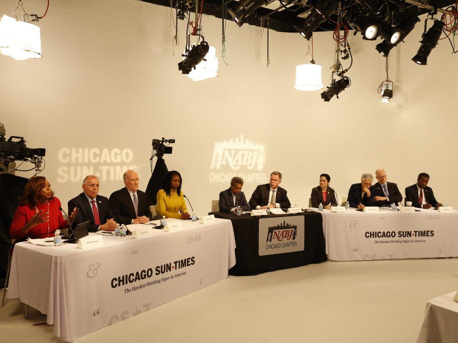 Chicago Sun-Times Poll: Toni Preckwinkle, Bill Daley lead -- but