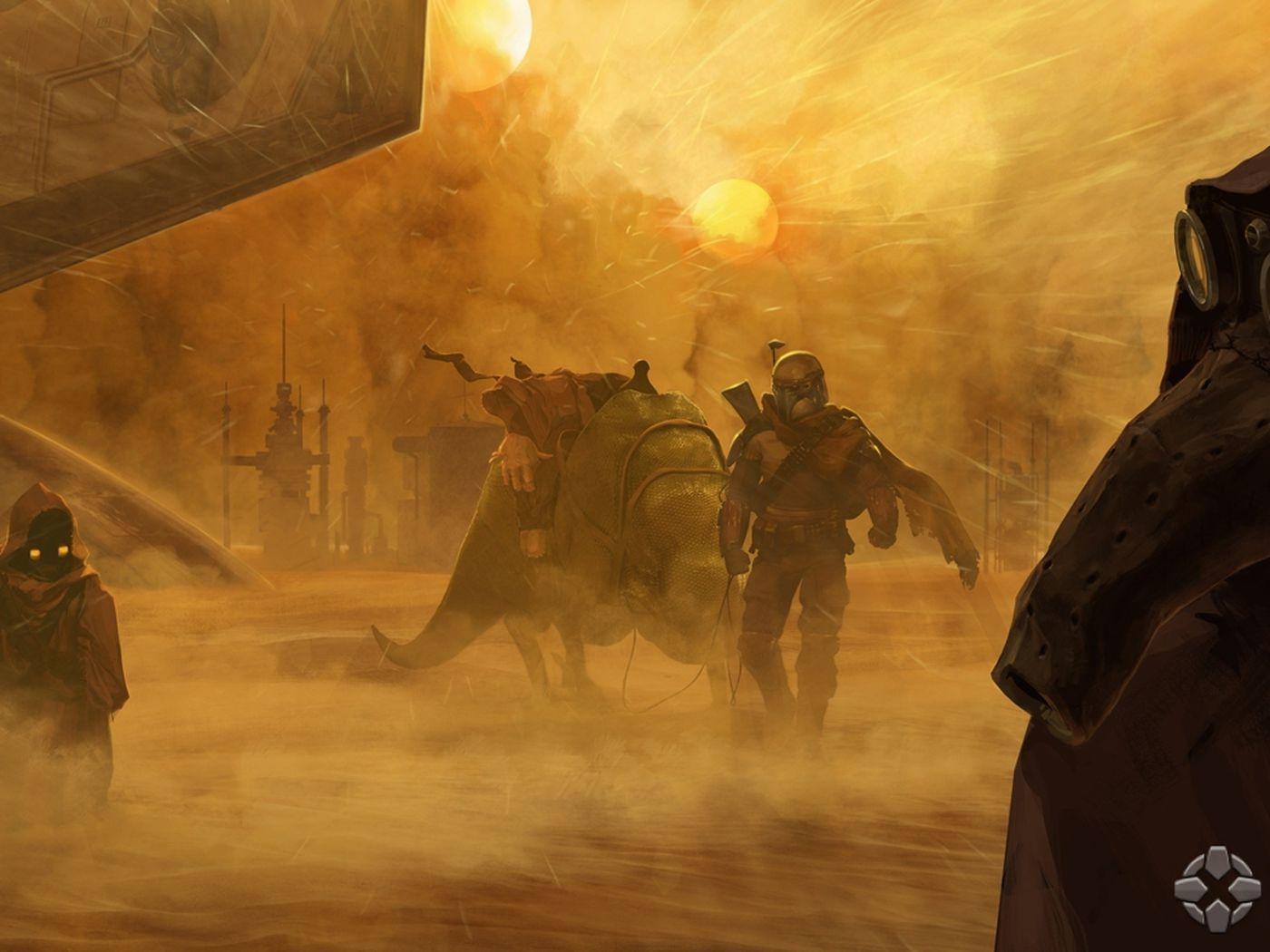 Star Wars 1313 Concept Art Demo Detail Story Starring Boba Fett Polygon