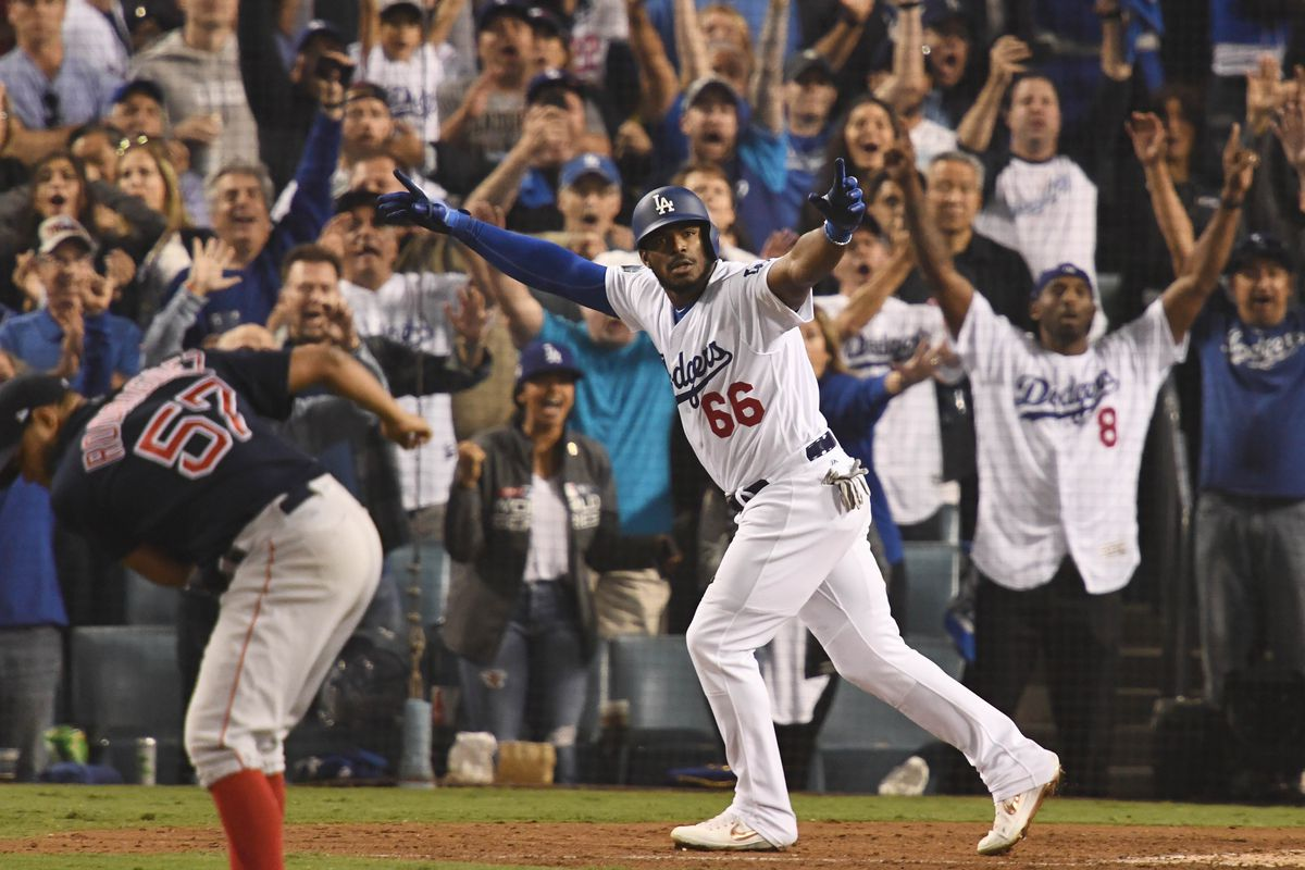 Remembering Yasiel Puigs Show Stopping Game 4 Home Run Vs